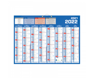 calendriers bancaires papclas1622 0