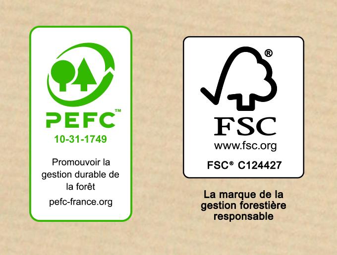 Certification FSC® PEFC™