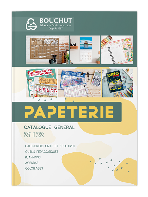Catalogue papeterie bouchut 2021/2022