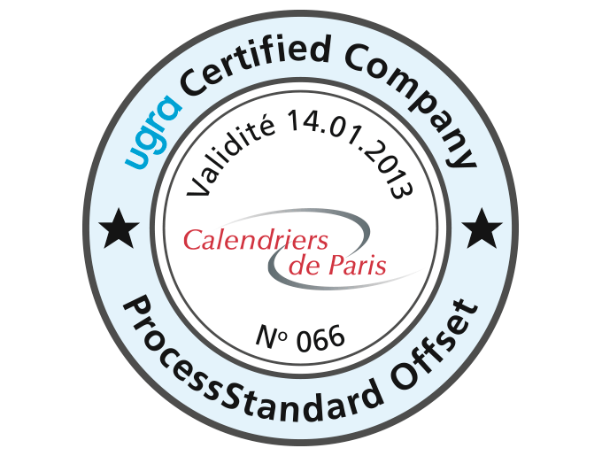 Certification PSO ISO 12647