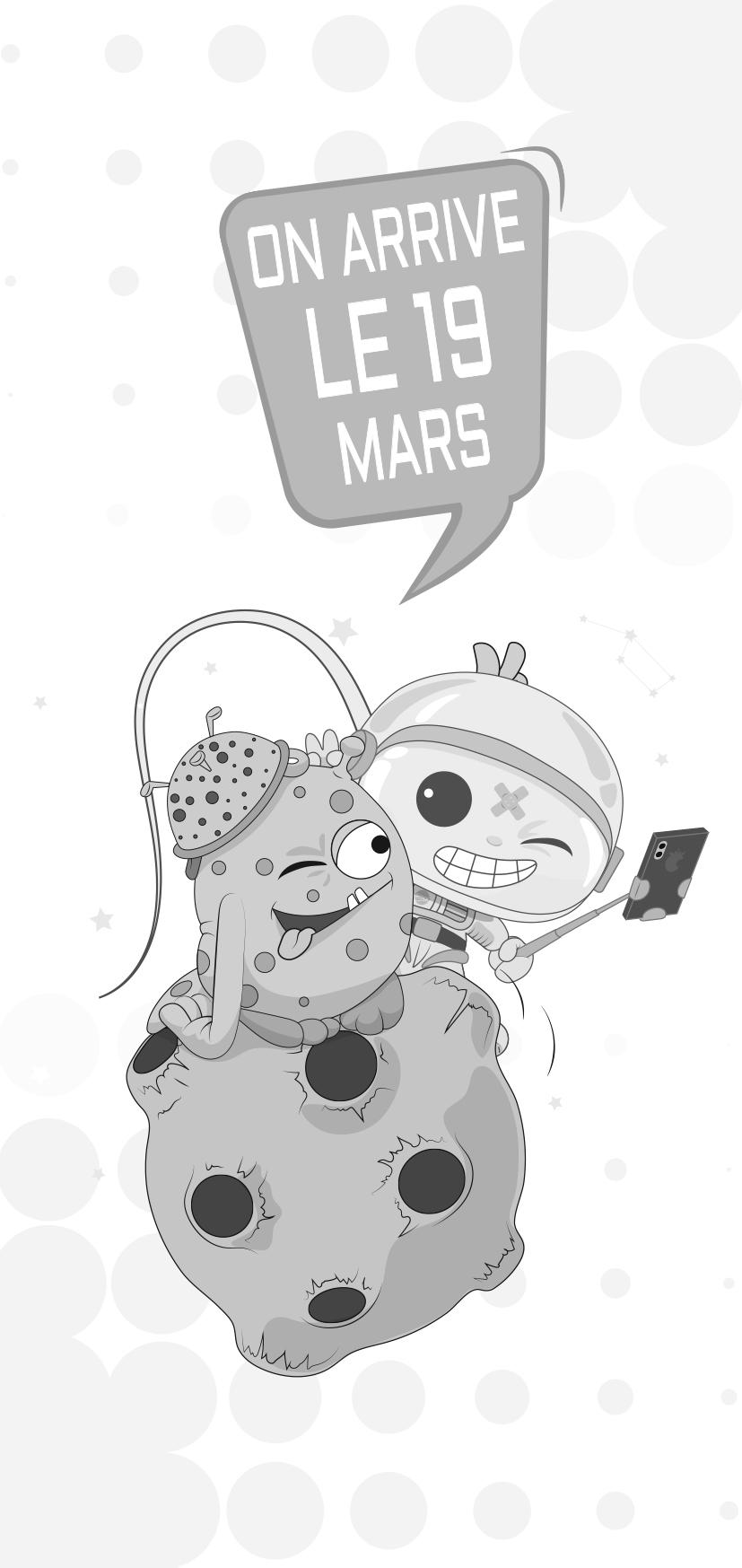 Fonds décran Space Adventure